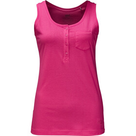 Jack Wolfskin Essential Top Damen tropic pink